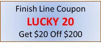 Finish Line Coupon Save $20